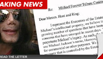 Michael Jackson Estate Threatens MJ Tribute Promoters