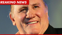 Gerard Depardieu Pisses On Air France