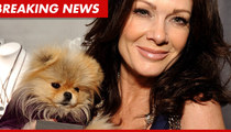 Lisa Vanderpump's Dog -- My Heart Aches for Taylor Armstrong