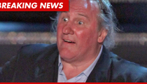 Depardieu's Urination Explanation -- I Offered to 'Clean Up the Mess'