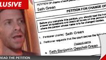 Seth Green -- Now 50% Less Jewish