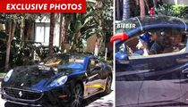 Justin Bieber and Ferrari OK After Minor Collision