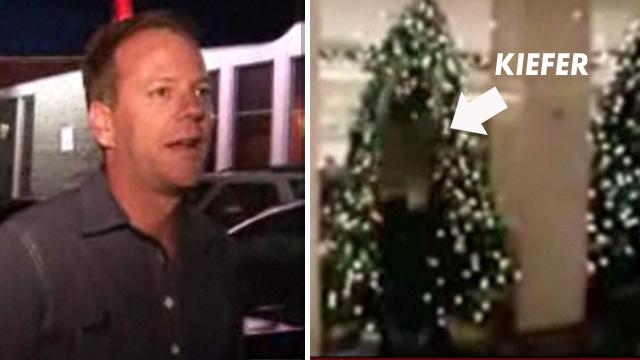 kiefer sutherland the secret hangover cure - Kiefer Sutherland Christmas Tree