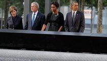 Pres. Bush, Obama Observe Moment of Silence at 9/11 Memorial