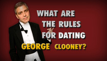 George Clooney -- Laying the Ground Rules for Stacy Keibler
