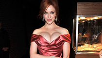 Christina Hendricks -- Are You Smarter Than Her Boobs?