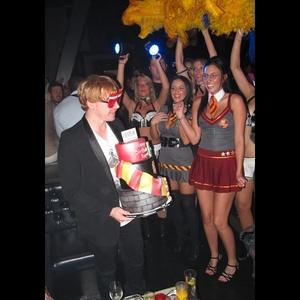 Rupert Grint Parties in Las Vegas