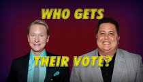 Carson Kressley vs. Chaz Bono -- Who Gets the GLBT Vote?
