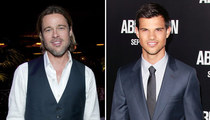 Brad Pitt vs. Taylor Lautner: Who'd You Rather?