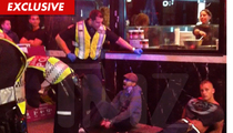 DJ Qualls -- Vancouver Police Run-in Caught on Tape [VIDEO]