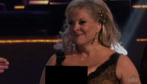 """Nancy Grace -- Nip Slip Cover Up on """"Dancing With the Stars""""?"""
