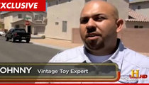 Pawn Stars -- Toy Expert Accused of Choking Woman, Holding Knife to Throat