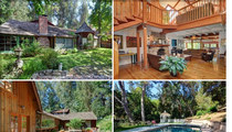 Jane Fonda's Old Valley Cabin -- In Search of a Wood-Loving Buyer