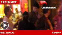 Channing Tatum -- Held Back After Bar Brawl