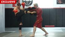 Mark Ballas -- The Shirtless, Sweaty Warrior Workout
