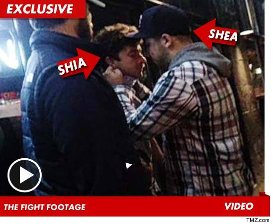 TMZ Live: Shia LaBeouf Brawling -- Its Just What He Does