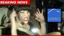 Milla Jovovich -- My New Movie Is Being Sabotaged By Our Own Producers