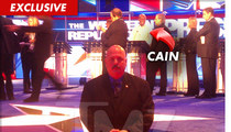 Herman Cain -- Ex-Con Had My Back During Republican Debate
