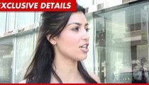 Kim Kardashian -- Donating $200k Instead of Returning Wedding Gifts