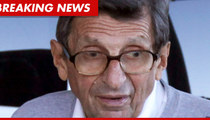 Joe Paterno -- Diagnosed with Lung Cancer