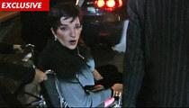 Liza Minnelli -- My Leg is BROKEN in 3 Places!!!