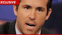 Ryan Reynolds -- Definitely, Maybe Set Off His Own House Alarm