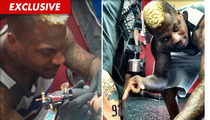 Dallas Mavericks Star DeShawn Stevenson -- Rookie Tattoo Artist