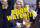 Jessica Simpson's Boobs -- When Motherhood Goes BUST