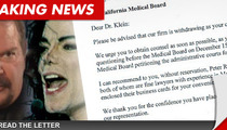 Michael Jackson's Skin Doc Arnie Klein -- The Medical Board Is On My Ass