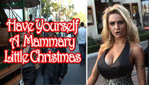 Courtney Stodden -- Flaunts Her Huge HOliday Spirit