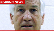 Jerry Sandusky Blocks Accusers From Spilling Beans ... For Now