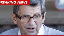 Joe Paterno: I Broke My Hip!