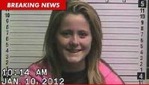 'Teen Mom' Star Jenelle Evans -- Arrested for Harassment