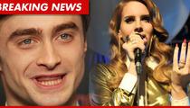 Daniel Radcliffe -- Lana Del Rey Wasn't THAT Bad on 'SNL'