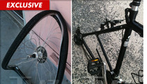 Gene Hackman -- Twisted Wreckage from Bloody Bike Crash
