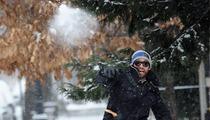 Hugh Jackman -- Snow Ballin'