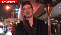 Robin Thicke -- I'd Love to Do a Duet with President Obama!