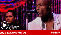 Seal Sings on Ellen -- 'LET'S STAY TOGETHER'