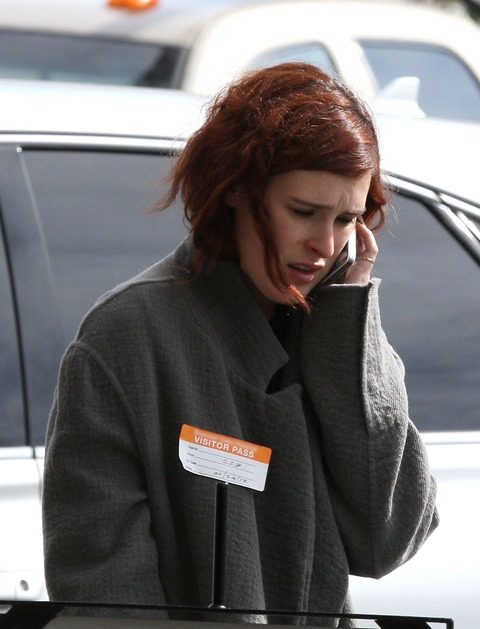 Rumer Willis upset at the hospital Demi Moore went to for substance abuse.