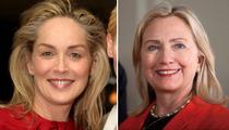 Sharon Stone -- Secretary of State?