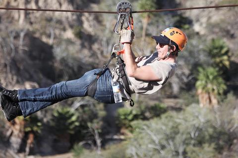 Leonardo Dicaprio Erin Heatherton Zip Line Family Photos
