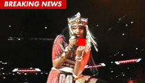 M.I.A. Flashes Middle Finger During Super Bowl Halftime Show