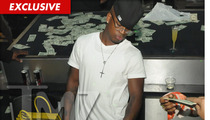 Ne-Yo -- This Strip Club Needs a New Carpet ... MADE OF CASH!!!