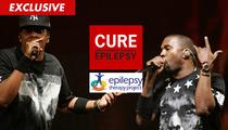 Jay Z & Kanye West -- Music Video Warning SAVED LIVES ... Says Epilepsy Org.