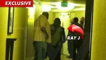 Ray J Rushed to Whitney Houston's Hotel, Turned Away by Cops