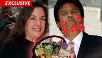Erik Estrada's Wife Nanette -- Happy Valentine's Day! Here's an Edible Man Thong