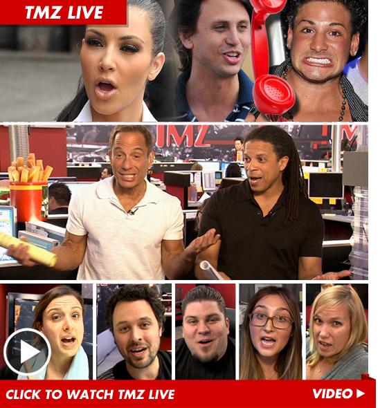 TMZ Live: Kim Kardashians Post-Wedding Donation ... Half-Assed