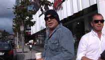 Mickey Rourke -- I Believe In Mel Gibson ... He's an Easy Target
