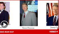 Trevor Donovan -- Odd Man Out at Nobel Peace Prize Ceremony
