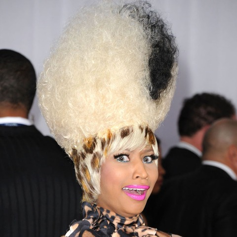Nicki Minaj's most outrageous and colorful wigs!